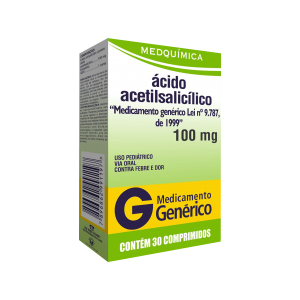 ÁCIDO ACETIL 100 MG